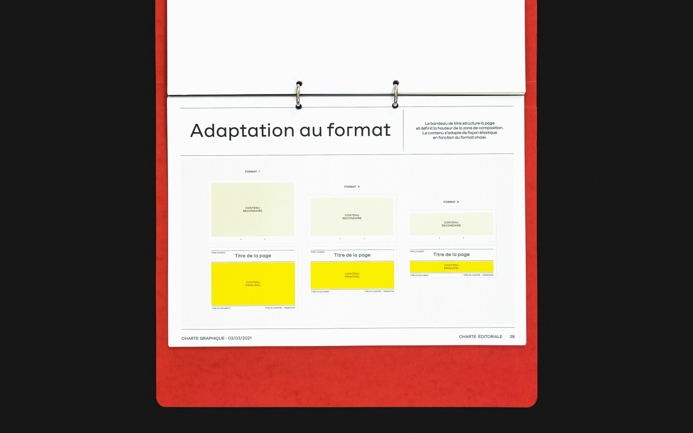 Charte graphique du musée des Tissus