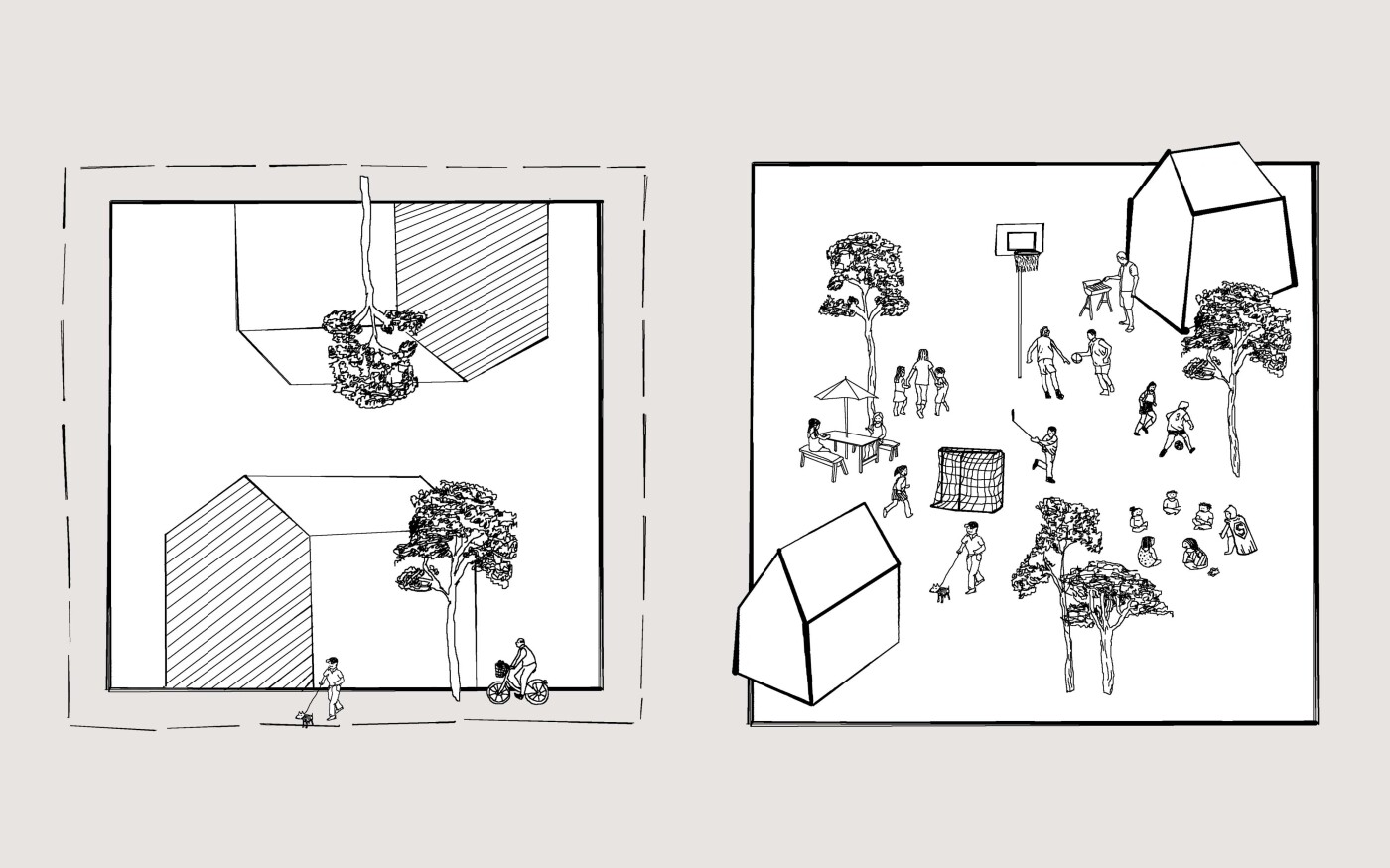 Illustration de l'habitat intermédiaire