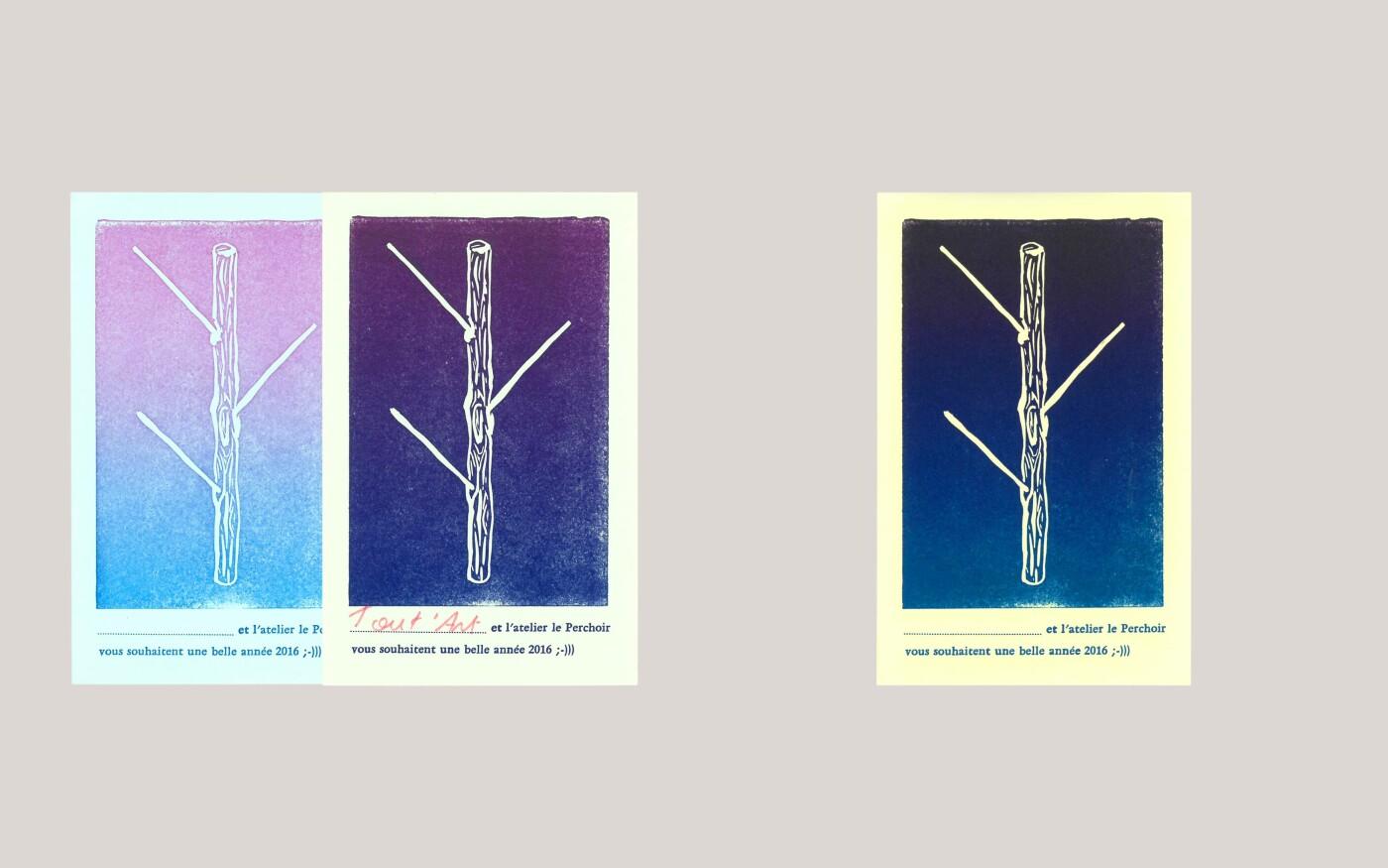 Langage visuel pour l'atelier Le Perchoir
