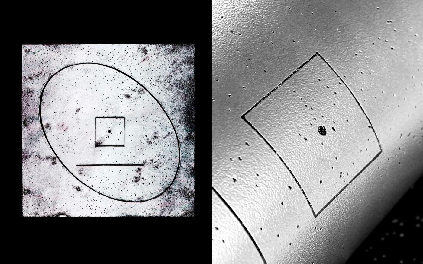 Illustration pour le single «Space» de D.L.i.d