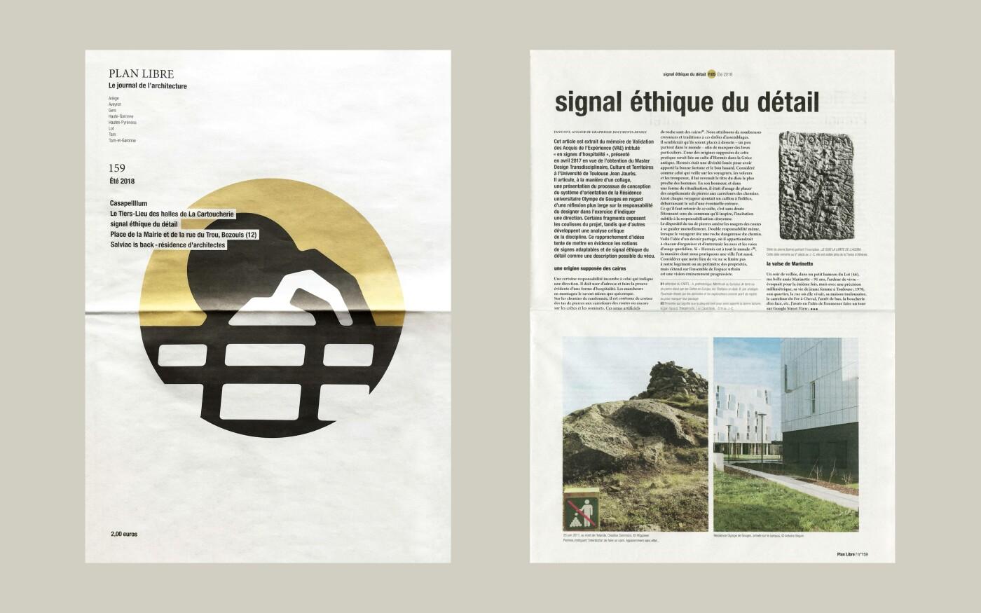 Article « Signal éthique du détail »